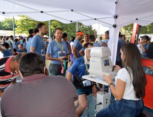Clínica Tércio Rezende realiza Exames Para a Prevenção do Glaucoma na 10ª Corrida FENAE do Pessoal da Caixa
